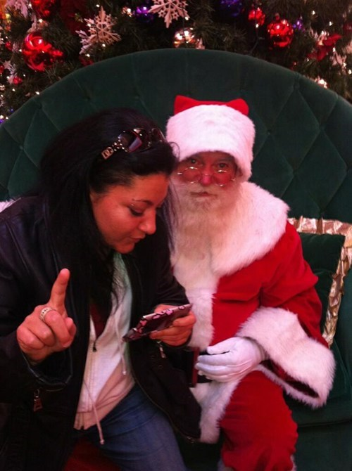 "Hang On a Sec: ""#santa Chillin' with my bro"""