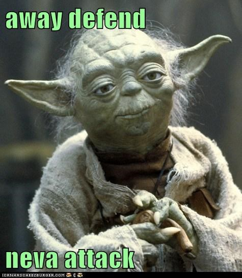 away defend   neva attack