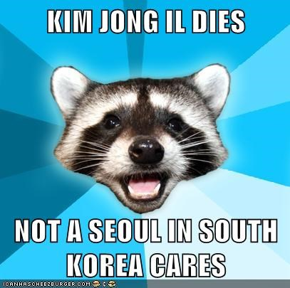 Lame Pun Coon: The End of His Korea