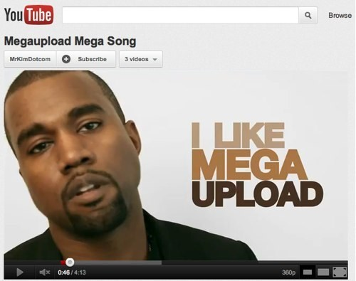 Follow Up of the Day: YouTube Says Universal Had No Right To Take Down Megaupload Video