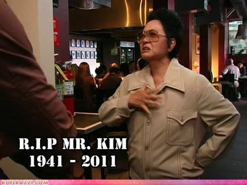 Death,its always sunny in philadelphia,Kim Jong-Il,rip