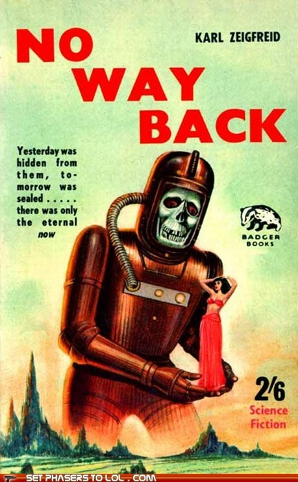 WTF Sci-Fi Book Covers: No Way Back