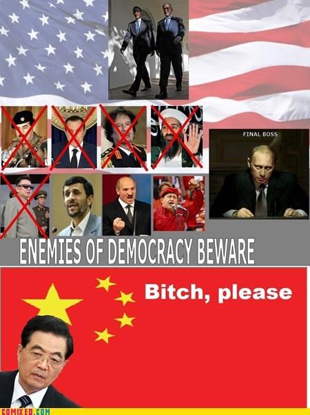 China,dictators,economy,enemies,final boss,politics