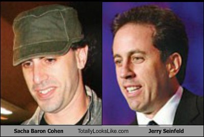 Sacha Baron Cohen Totally Looks Like Jerry Seinfeld
