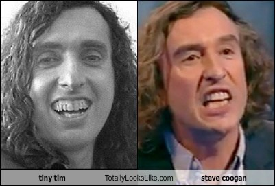 Tiny Tim Totally Looks Like Steve Coogan