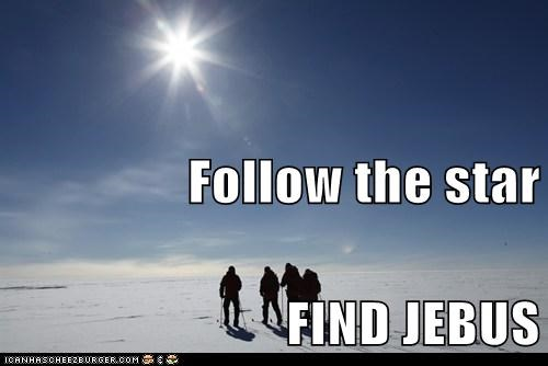 Follow the star FIND JEBUS