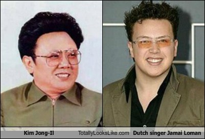 Kim Jong-Il Totally Looks Like Dutch Singer Jamai Loman