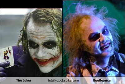 The Joker Totally Looks Like Beetlejuice