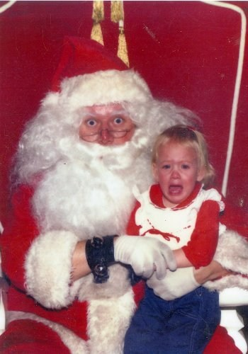 Like a Shark, Santa is Just as Scared as You