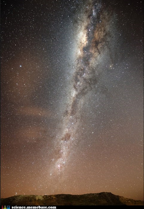 The Spiraling Arm of the Milky Way