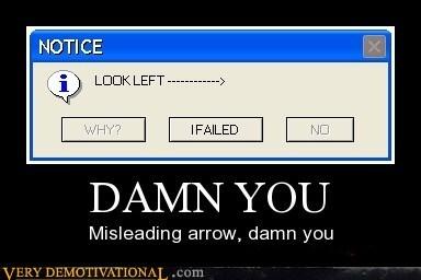arrow,damn,hilarious,misleading