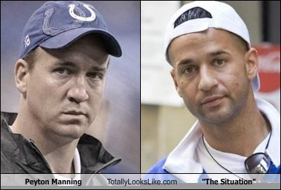 "Peyton Manning Totally Looks Like ""The Situation"""