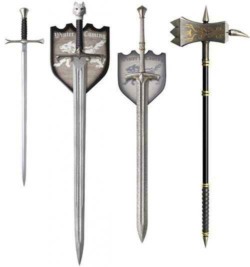 Game of Thrones Swords of the Day