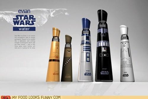 best of the week,bottles,branded,evian,star wars,water