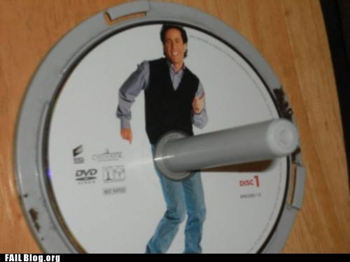 What's The Deal With DVD Holders? FAIL