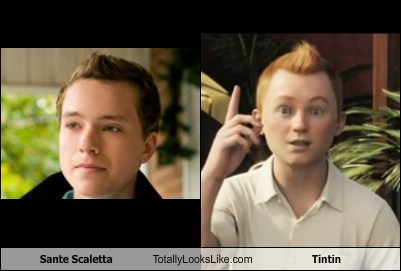 Sante Scaletta Totally Looks Like Tintin