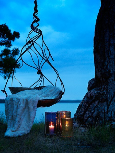 candles,chair,getaways,lake,relax,relaxation station,seat,water