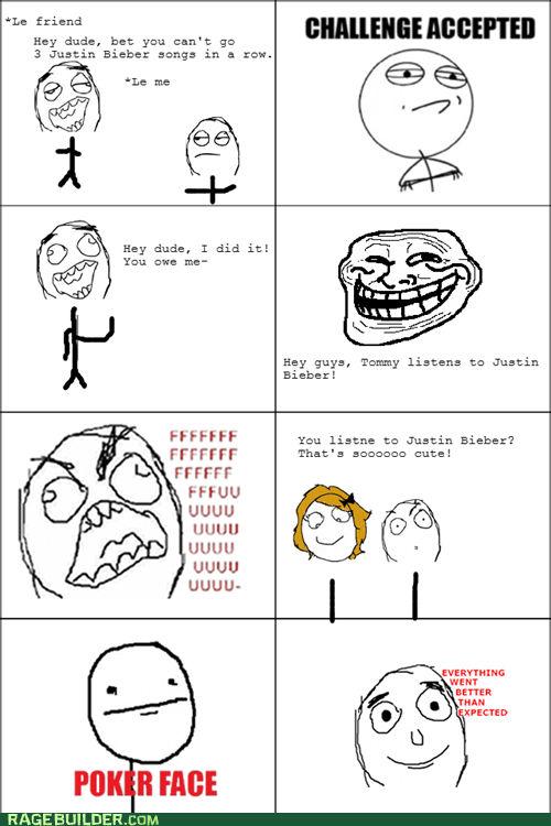 Rage Comics: There Really Is One Less Lonely Girl