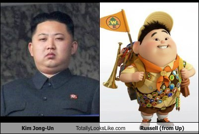 Kim Jong-Un Totally Looks Like Russell (from Up)