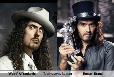 'Weird' Al Yankovic Totally Looks Like Russell Brand