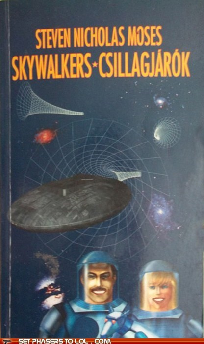 WTF Sci-Fi Book Covers: Skywalkers