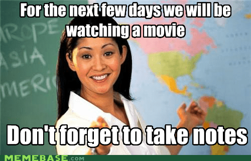 Terrible Teacher: She Don't Care How Bad the Movie Is