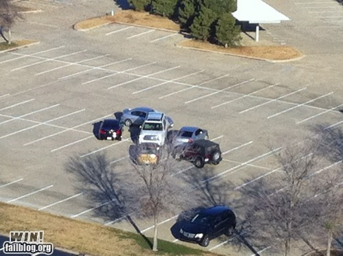 douchebag parker,driving,g rated,parking,prank,revenge,win