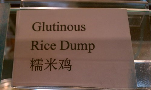Go ahead glutton, take another scoop of rice