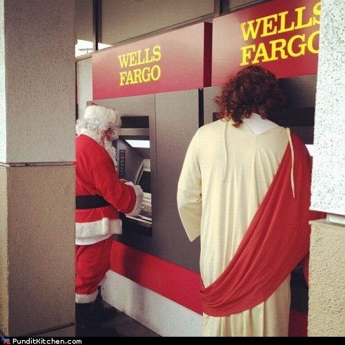 Friday Picspam: Oh Holy Checking Account