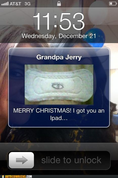 Autocowrecks: Grandpa Got Me a Bad Pun for Christmas