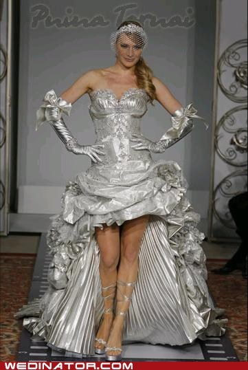 bridal couture,bridal fashion,funny wedding photos,silver,wedding couture,wedding dress,wedding gowns