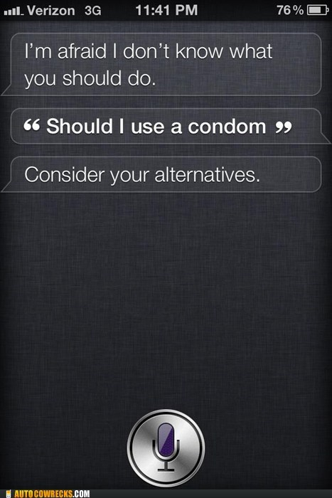 Siri Likes to Bare It All