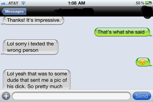 """Impressive"" = Polite Way of Saying ""Shrimp Dick"""