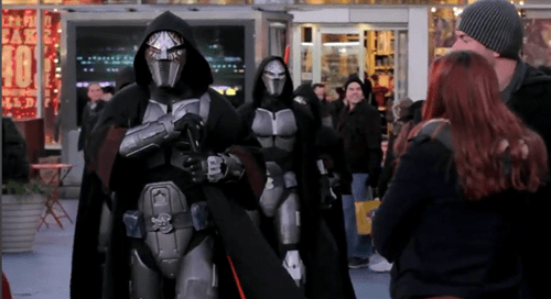 Jedi vs. Sith Flashmob of the Day