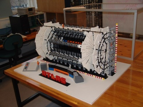 Lego Large Hadron Collider of the Day
