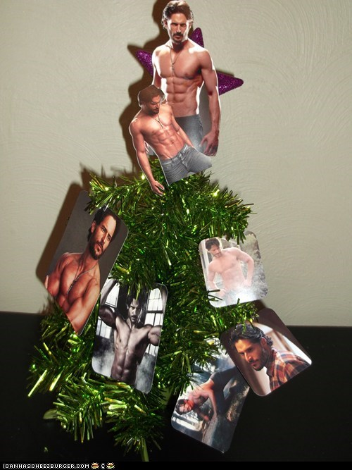 I Give You The Man Tree. Merry Man-mas.