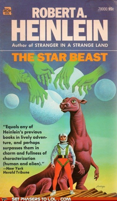 WTF Sci-Fi Book Covers: The Star Beast