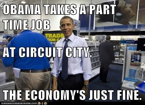 barack obama,economy,political pictures