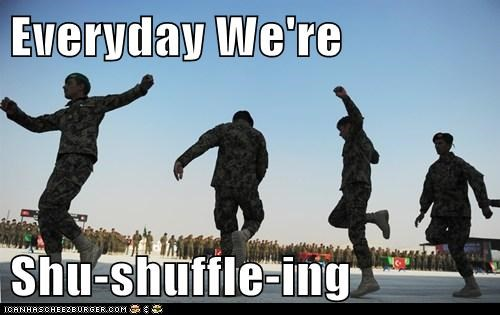 Everyday We're  Shu-shuffle-ing
