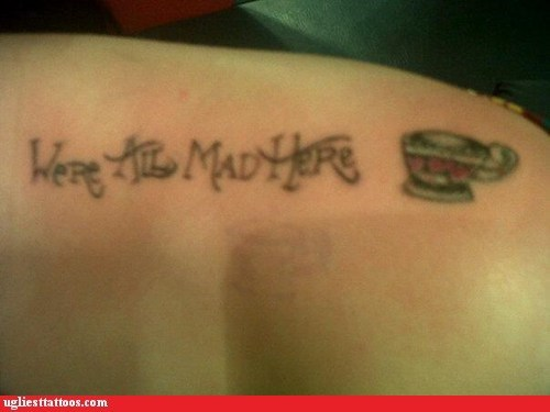Ugliest Tattoos: Were All Stupid Here