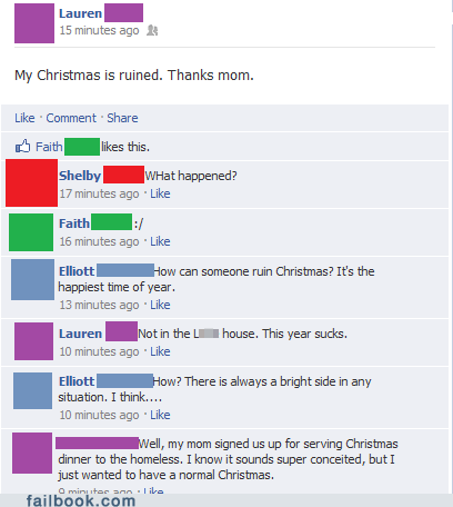 The Spirit of Christmas FAIL
