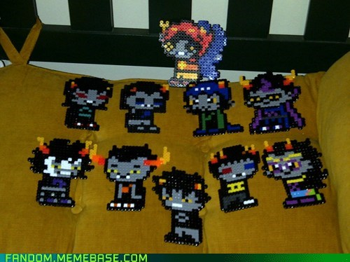 Homestuck: ALL THE TROLLS!!!