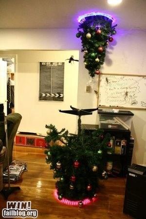 christmas,christmas decorations,christmas tree,g rated,holiday,nerdgasm,Portal,win