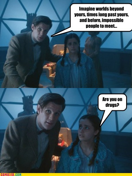 doctor who,drugs,the question,TV,worlds