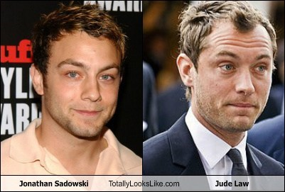 Jonathan Sadowski Totally Looks Like Jude Law