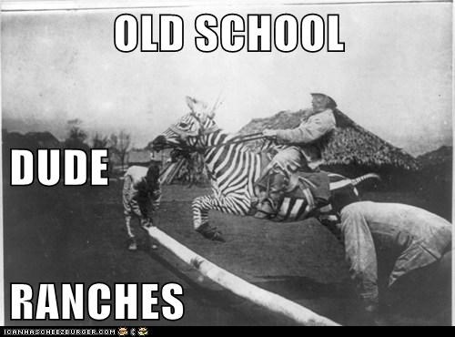 OLD SCHOOL DUDE RANCHES