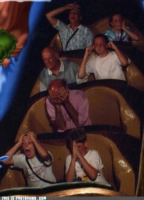 awesome,kids,old guy,praying,ride,scary