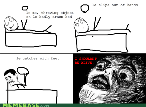 Rage Comics: I Should Really Get a Hacky Sack