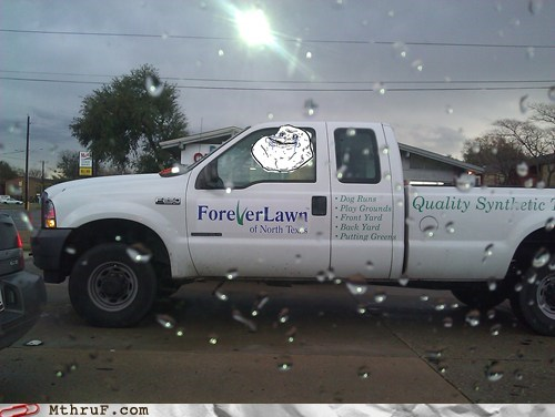 Unfortunately Titled Business is Forever A Lawn