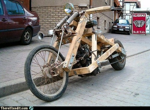 Mad Science Monday,motorcycle,wtf